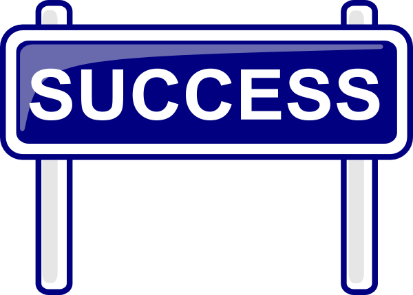 Moving clipart success Free Art Download Clip Success