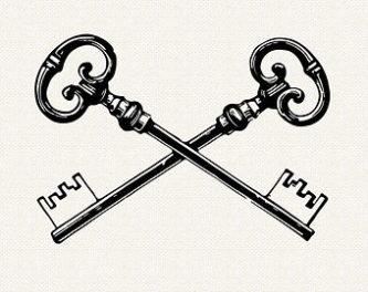 Key clipart two Clipart ClipartPen Clipart Key Key