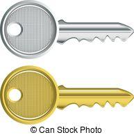 Key clipart two White on keys 2 key