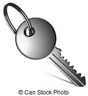 Key clipart yale Vector art white Art key