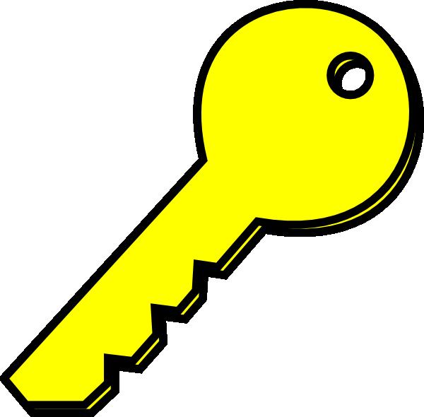 Key clipart yellow At Yellow image clip royalty