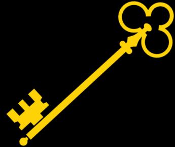 Key clipart yellow Clipart » Key Clipart #673