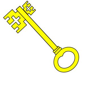Key clipart yellow At Yellow Clip clip royalty