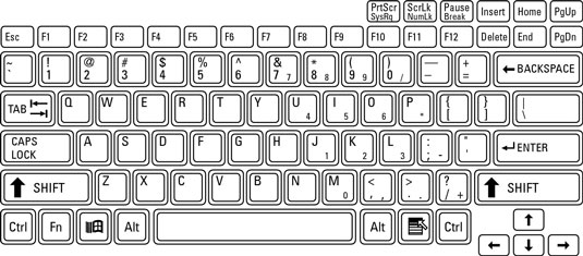 Keyboard clipart Clipart Computer Dell keyboard Clip