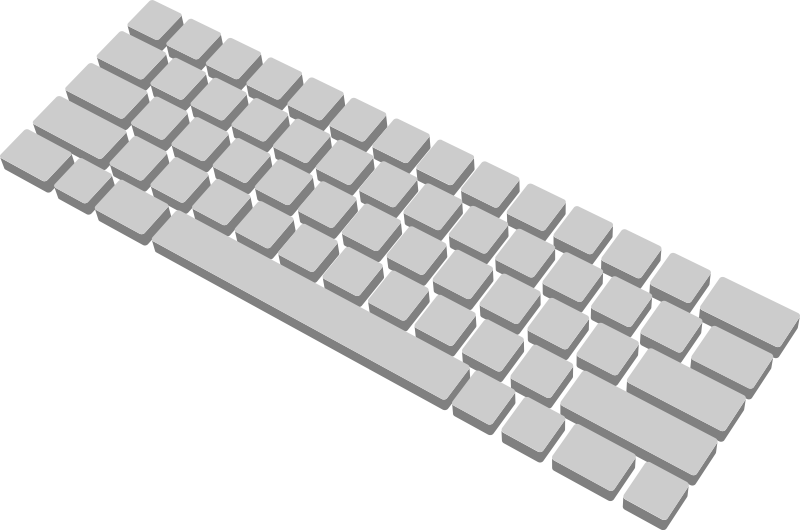 Keyboard clipart Clipart Computer Computer Keyboard Clipart