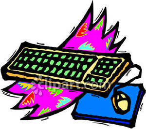 Mouse clipart computer keyboard #5