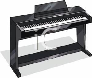 Piano clipart electric piano Electronic of keyboard collection Electric