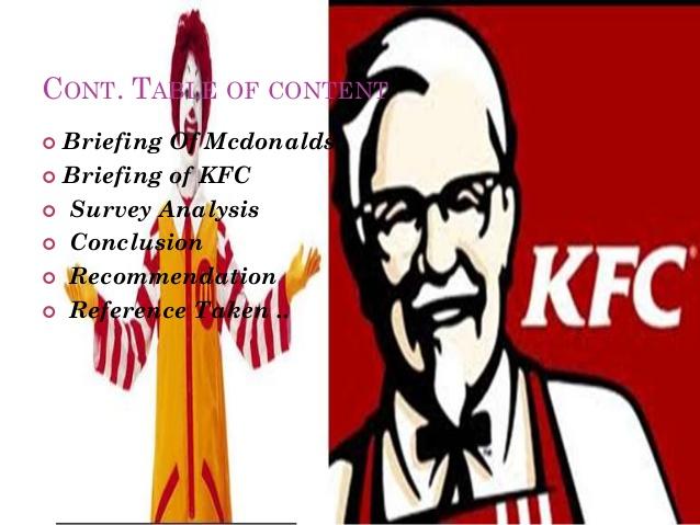 Kfc clipart mcdonalds 5 Kfc vs mcdonalds