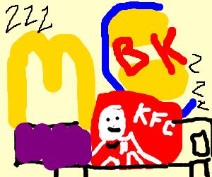 Kfc clipart mcdonalds McDonalds KFC mc donalds in
