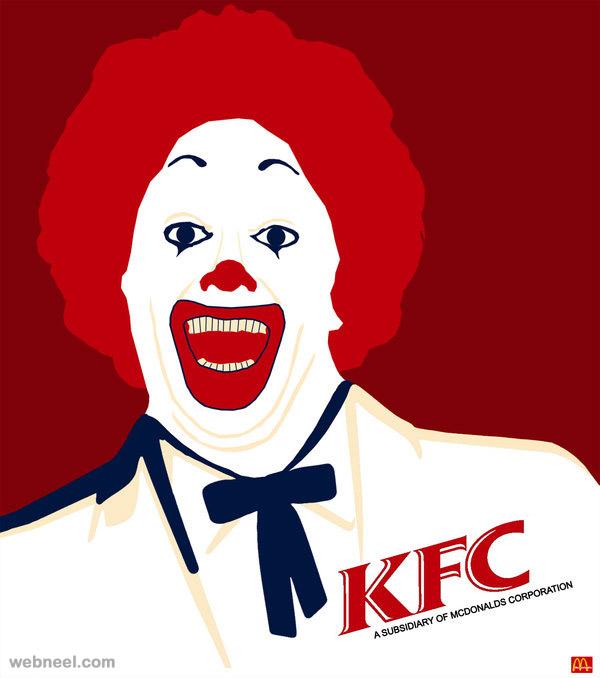 Kfc clipart mcdonalds Fried chicken kfc mcdonalds kfc