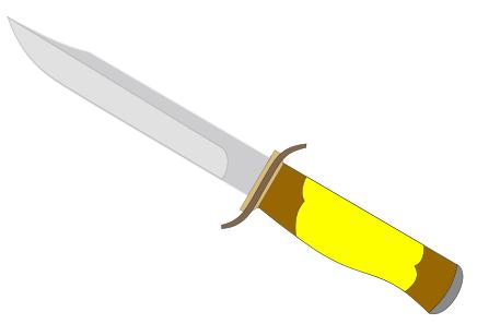 Dagger clipart knife Art knife clip clip 70