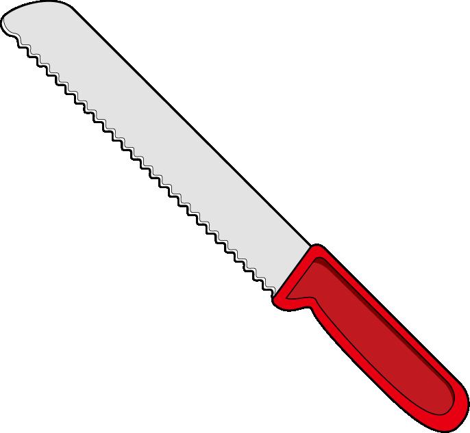 Knife clipart drawn Clipart Bread  Knife
