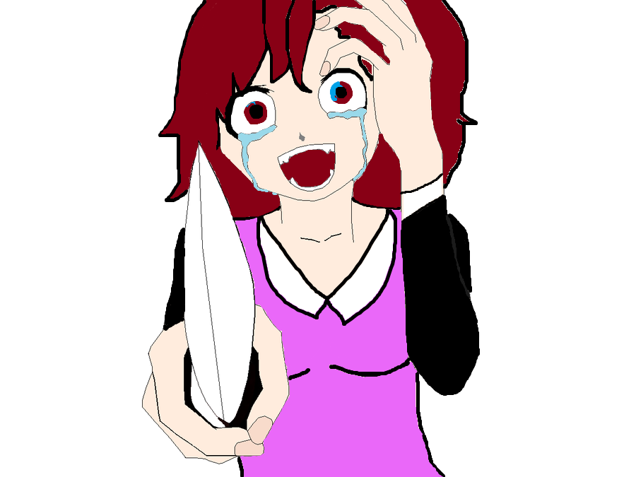 Khife clipart animated A collection Clipart girls Crying