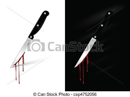 Khife clipart blood clipart Csp4752056 blood Kitchen Art knife