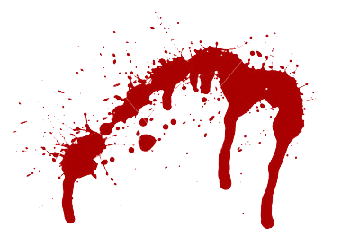 Khife clipart blood clipart Clipart Blood Knife Splatter Clipart