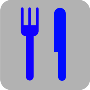 Knife clipart blue Art com Clip And Fork