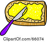 Khife clipart bread and butter Clipart Spreading Spreading Butter Download