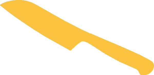 Khife clipart chef Knife art Clip Yellow clip