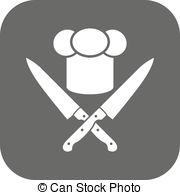Knife clipart crossed  crossed chef  Clipart