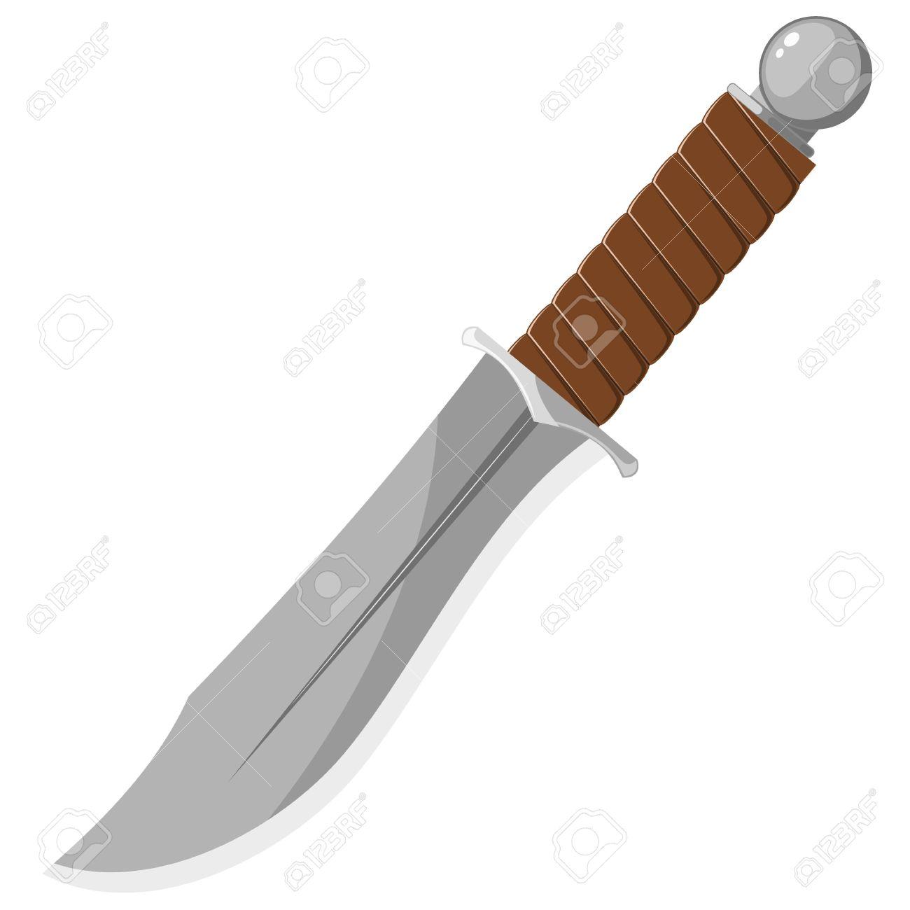 Drawn dagger military knife Knife Sharp Clipart of Knife