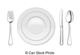 Knife clipart dining Isolated and Art 24 Stock