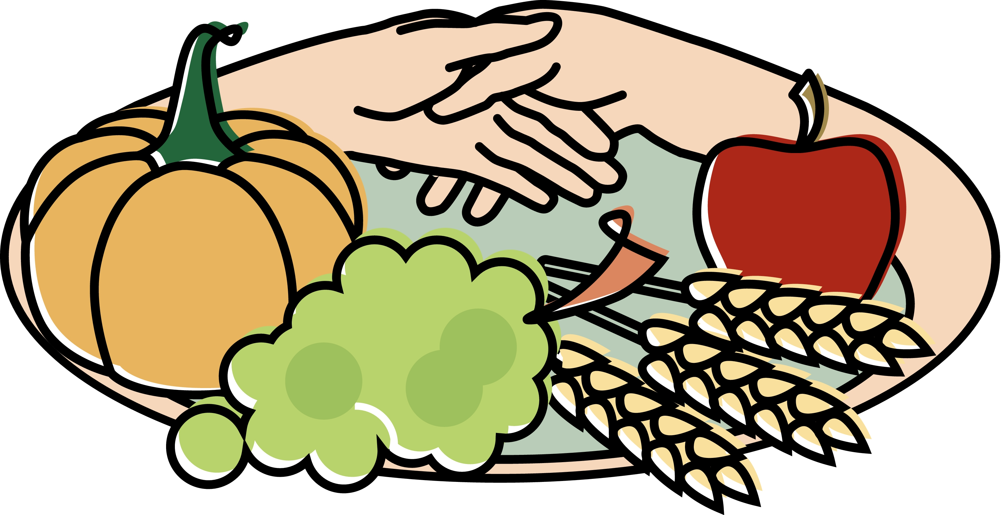 Harvest clipart church Clipart clipart Clipart Free Dinner