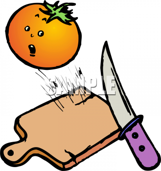 Knife clipart food Art Tomato to About Food