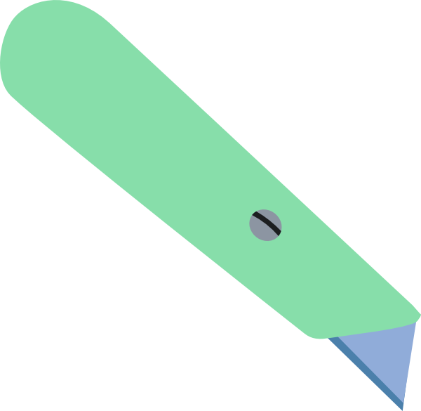 Knife clipart green Knife vector this Download Craft