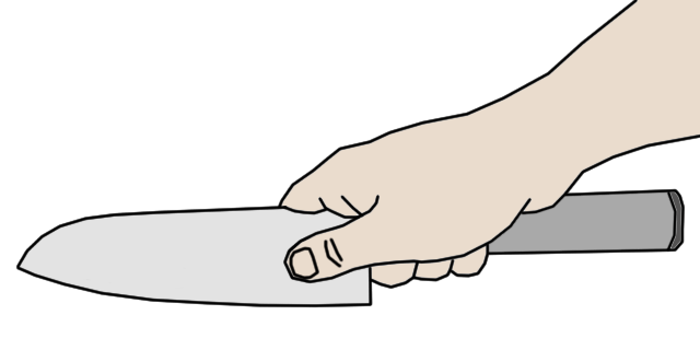Knife clipart hand holding How this It: Do Knife