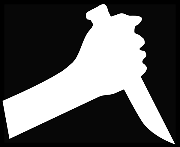 Knife clipart hand holding Online  Knife this Art