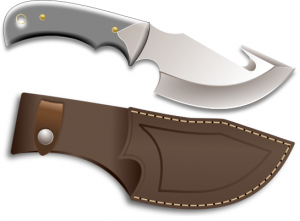 Khife clipart hunting knife Sheath Clip with Clipart Hunting