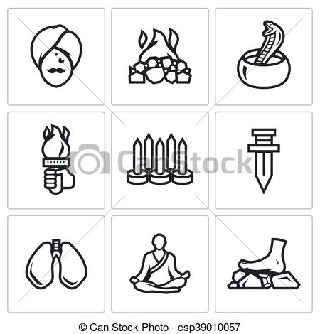 Khife clipart indian Of Fakir of a Swallowing