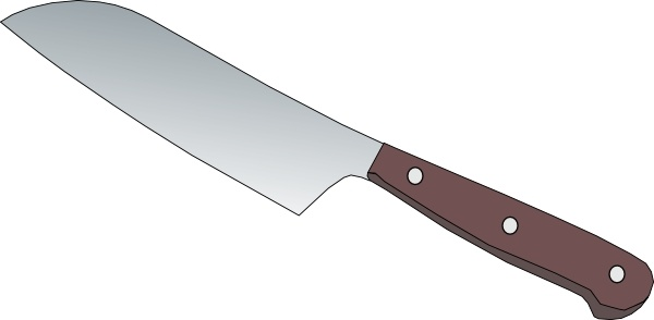 Knife clipart kitchen knife Open Kitchen drawing in Knife