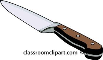 Khife clipart kitchen knife Kitchen Knife Knife Clipart Clipart