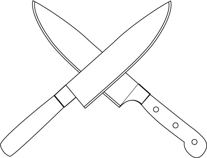Khife clipart kitchen knife  Kitchen Knives