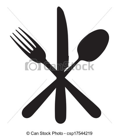 Knife clipart logo And spoon csp17544219 Art Knife