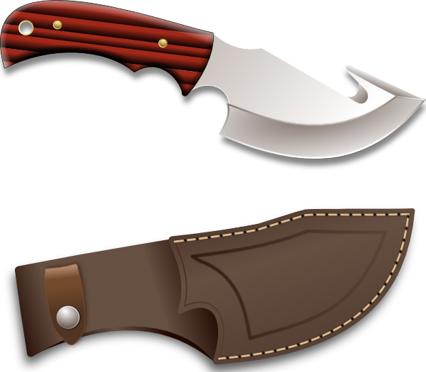 Dagger clipart hunting knife Image art as: com at