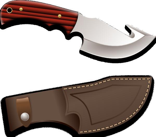 Knife clipart hunting knife As: Hunter art Knife Clip