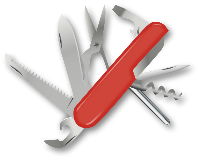 Khife clipart multi Clip Army Swiss Knife Art