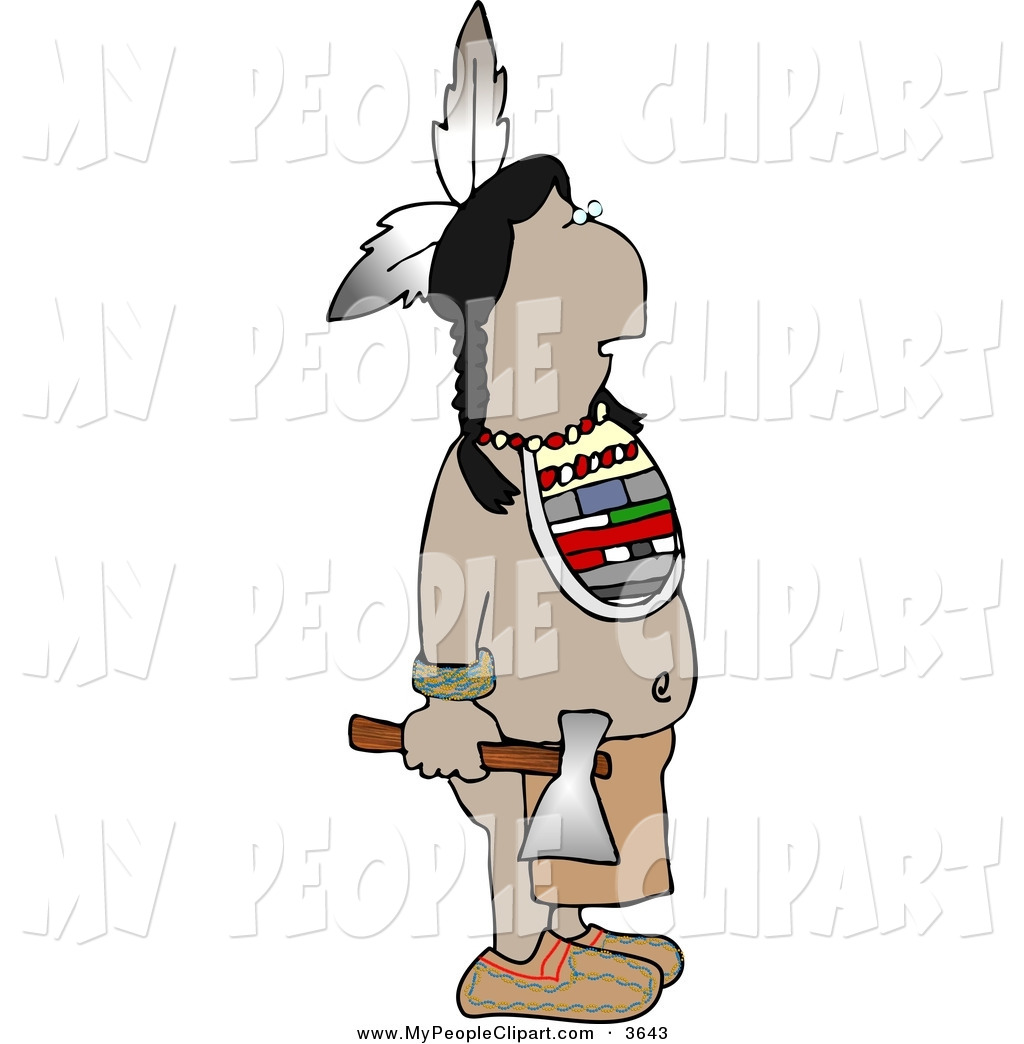 Native American clipart knife Free Hatchet Native People Indian