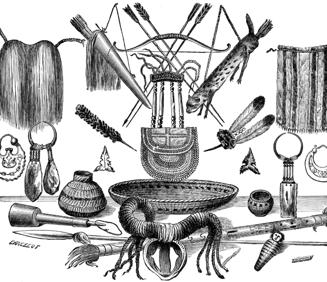 Native American clipart knife  American Artifacts American art