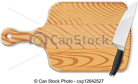 Khife clipart orange Board Clipart – Chopping Clip
