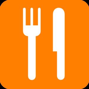 Khife clipart orange And art Clker at Knife