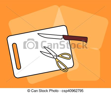 Khife clipart scissors Cutting Knife Cutting with csp40962795