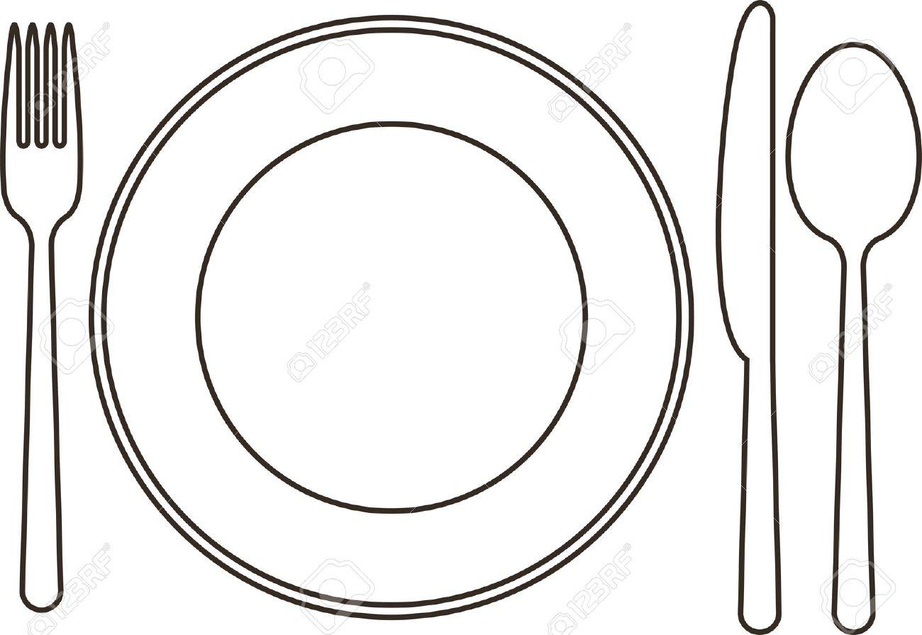 Khife clipart spoon And Fork Vector Spoon Fork
