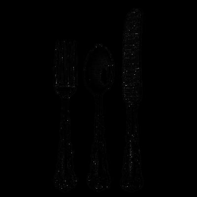 Knife clipart transparent background Trio Fork PNG Cutlery transparent
