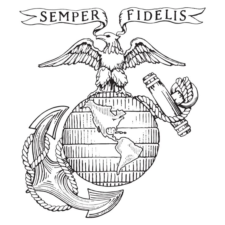 Knife clipart usmc Emblem By: Shared 2012 30