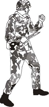 Knife clipart usmc Of Marine US 3 Manual:
