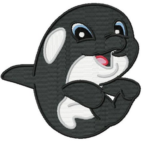 Orca clipart cute baby Killer whale Killer and New