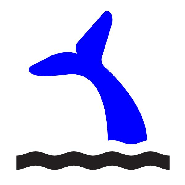 Blue Whale clipart whale tale Tail clip Art image com